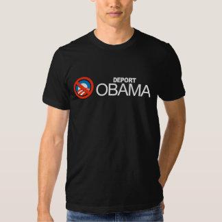 Anti-Obama - deportera Obama Tee Shirts