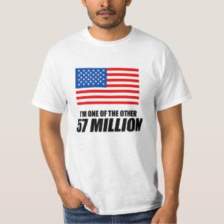 Anti-Obama - en av de 57 miljonerna Tshirts