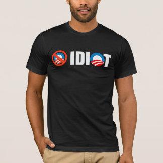 Anti-Obama - Obama är en idiot Tee Shirt
