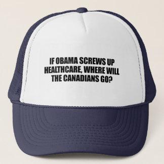Anti-Obama - om Obama skruvar upp sjukvård Keps