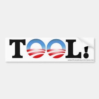 """Anti-Obama """"VERKTYG"""" bildekal"""