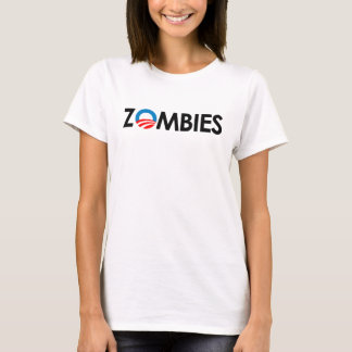 Anti-Obama - Zombiessvart T-shirt