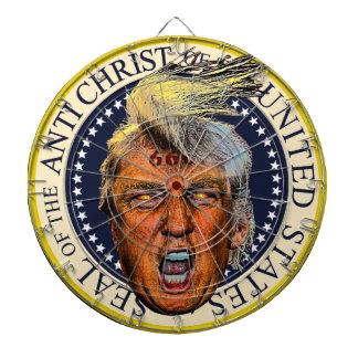 Anti presidenttrumf förseglar av den Anti Kristus Piltavla