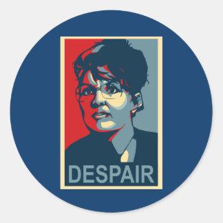 Anti-Sarah Palin klistermärkear Runt Klistermärke