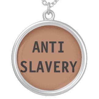 Anti slaveribrunt för halsband