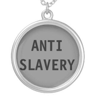 Anti slaverigrå färg för halsband