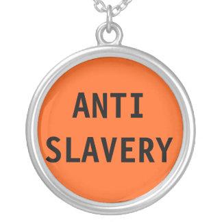 Anti slaveriorange för halsband