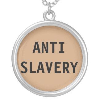 Anti slaverisolbränna för halsband