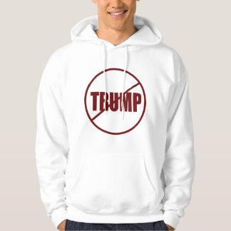 Anti trumf ingen beställnings- Donald Trump för Hoodie