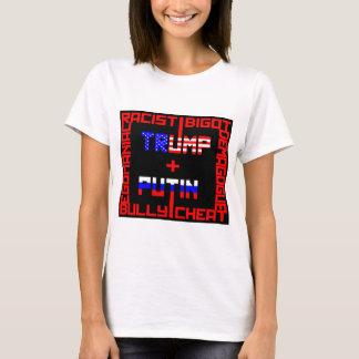 Anti trumf+Putin Tee Shirt