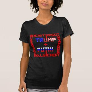 Anti trumf+Putin Tee Shirts