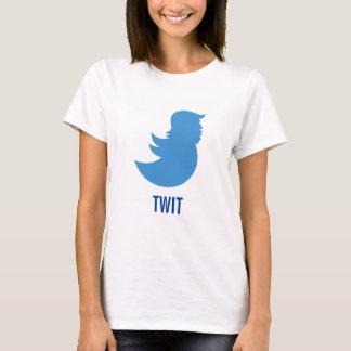 """Anti-Trumf T-tröja: Donald Trump """"TWIT """", T-shirts"""
