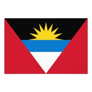 Antigua & Barbuda flagga Fotografi
