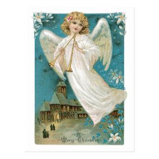 Antik ängel vykort