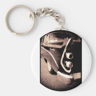 Antik bil nyckelring