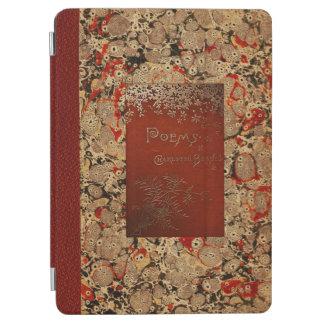 Antik bok för Charlotte Bronte dikter iPad Air Skydd