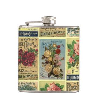 Antik flaska för trädgård för roHeirloomro Fickplunta