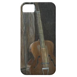 Antik gitarr iPhone 5 Case-Mate skydd