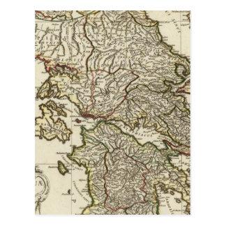 Antik grekisk karta vykort