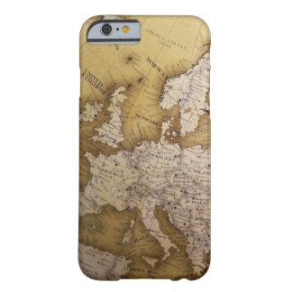 Antik karta av Europa. Gammal värld Barely There iPhone 6 Skal
