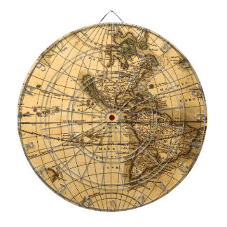 Antik karta darttavla