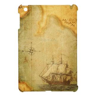Antik karta & frakt iPad mini mobil skydd