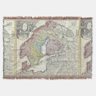 Antik kartaskandinavienvintage Northern Europe Mysfilt