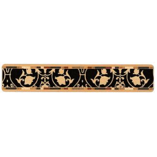 Antik rullatapet nyckelhängare