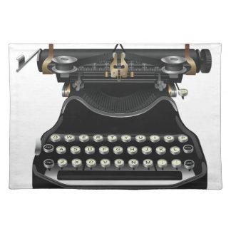 Antik skrivmaskin bordstablett