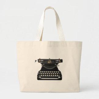 Antik skrivmaskin tote bags