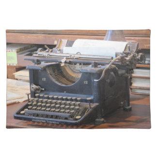 Antik skrivmaskinsbordstablett bordstablett