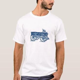 Antik trävagn t shirts