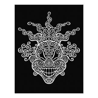 Antik Twisty gyckelmakare Brevhuvud