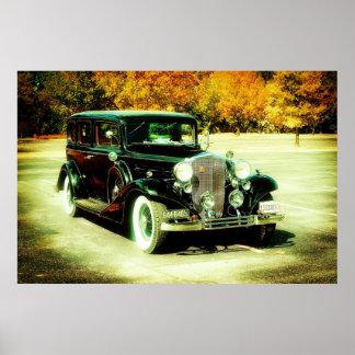 Antika Cadillac 1933 Poster