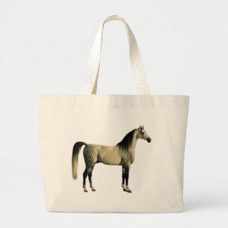 Antika hästar - arab jumbo tygkasse