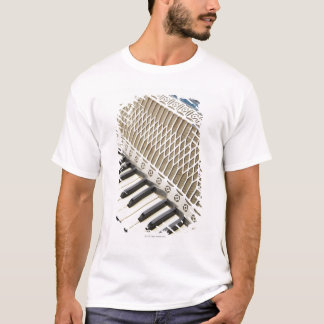 Antikt dragspels- tangentbord t shirt