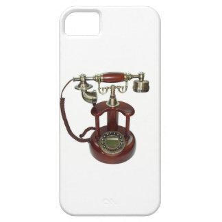 Antikt trä ringer Pictre för ditt mig ringer iPhone 5 Cases