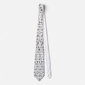 Antikt tryck för forntida snäckor slips