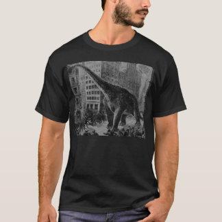 Antikt tryck för Gigantosaurus Dinosaur Tshirts