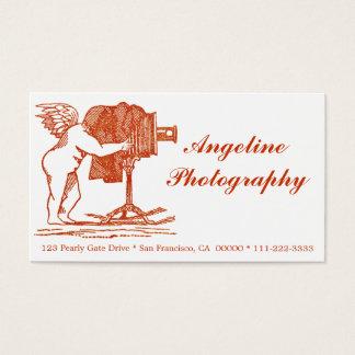 Antikvitet-Look fotograf visitkort