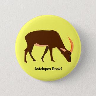 Antilop knäppas standard knapp rund 5.7 cm