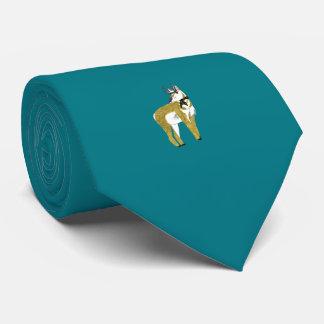 AntilopTieblått Slips