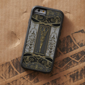 Antiqued rena Hazlehurst 6/6s Scissors dropp Tough Xtreme iPhone 6 Fodral