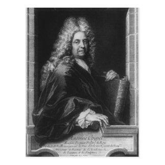 Antoine Coypel, efter ett självporträtt Vykort