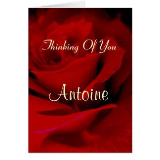Antoine Hälsningskort