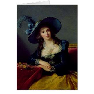 Antoinette-Elisabet-Marie d'Aguesseau Hälsningskort