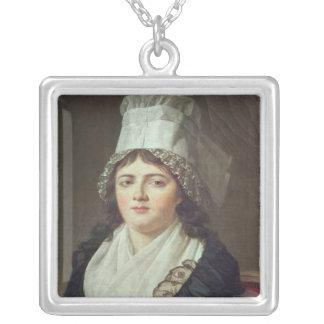Antoinette Gabrielle Charpentier 1793 Silverpläterat Halsband