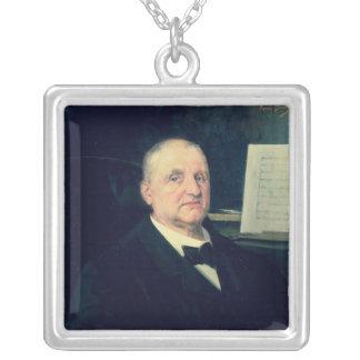 Anton Bruckner, 1889 Silverpläterat Halsband
