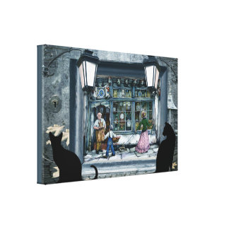 Anton Pieck incorparated reproduktion Canvastryck