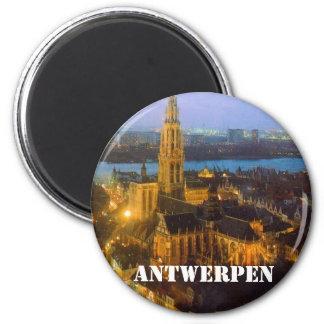 Antwerpen Magnet Rund 5.7 Cm